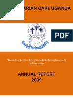 Annual Report 2009 Humanitarian Care Uganda