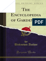 The Encyclopedia of Gardening 1000114152