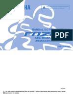 Manual Fazer Ys 150 ED/SED BlueFlex