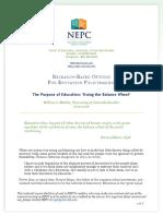sample comparative rhetorical analysis paper economic inequality  nepc the purpose of education