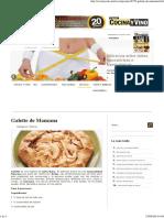 Galette de Manzana - Cocina y Vino