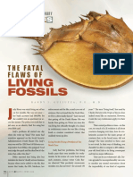 Fatal Flaws of Living Fossils