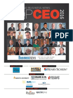 2016 Long Island Business News Top CEOs