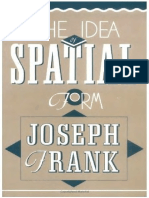 Frank, Joseph - Idea of Spatial Form (Rutgers, 1991)