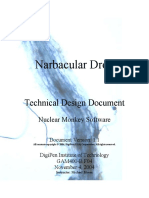 Narbacular Drop Technical Design Document