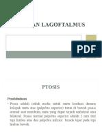 Lagoftalmus Dan Ptosis