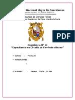 INF N°10 FIS III