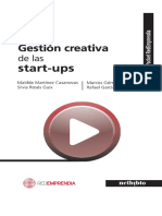 Gestion creativa. Startups