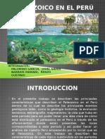 Paleozoico en El Peru