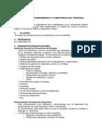Desarrollo Entrenamiento Competencia Trabajador