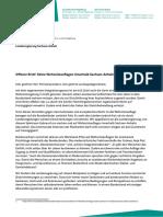 2016-11 Offener Brief gegen Wohnsitzauflagen in Sachsen-Anhalt
