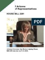 AZ House Bill 2281