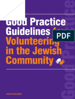 Volunteering Good Practice Guidelines