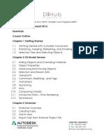 Autodesk®Navisworks®2016 - Essentials- Course Outline