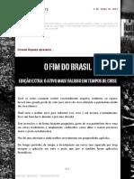 o Fim Do Brasil Edicao Extra