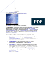 La Electricidad y Conceptos Basicos