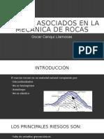 Riesgos Asociados en La Mecánica de Rocas