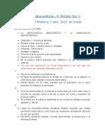 Los Partidos Políticos R.Michels Resumen