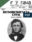 Revista Amor y Rabia Nr. 32 Desobediencia-civil