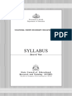 Syllabus of Vhse