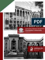 Aarohan 2015- MBA Placement Brochure, UCCBM, Osmania University