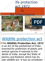 wild life protection act 1972,ppt.pptx