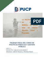 La Política Pública de Educación Musical COLOMBIA