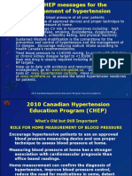 Canadian Hypertension Guidelines 2010 - Diagnosis Assessment and Follow Up - RONAL