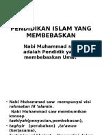 Pendidikan Islam Yang Membebaskan