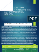 Ethical Issues in the Relation of Physicians With the Pharmaceutical Industry