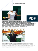 5 Sports Women Who Made India Proud