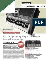 s210 Brochure PSR-A2000 Fr