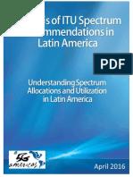 5G Americas English Spectrum in LatAm White Paper April 2016