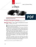2nd Quarter 2016 Lesson 12 Jesus' Last Days