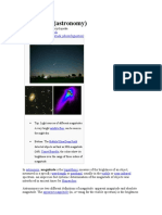 Magnitude (Astronomy)
