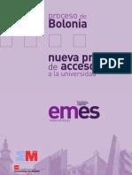 El proceso de Bolonia y la PAEU