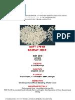 Soft Offer Basmati Rice-pakistan-may10