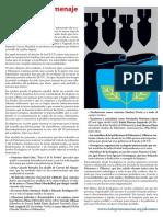 Manifiesto, 50 años de Palomares (Almería).