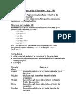 Interfata API