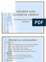 Ancient and Classical Greece