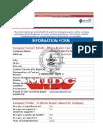 Information Sheet (MIDC Portal Services)