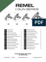 Manual Pistol de Lipit Dremel 940
