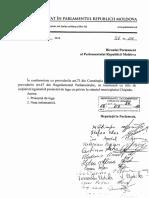 Proiectul de lege cu privire la statutul Municipiului Chisinau