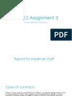 unit 12 assignment 3