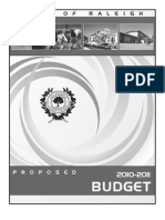 2011-Proposed Operating Budget