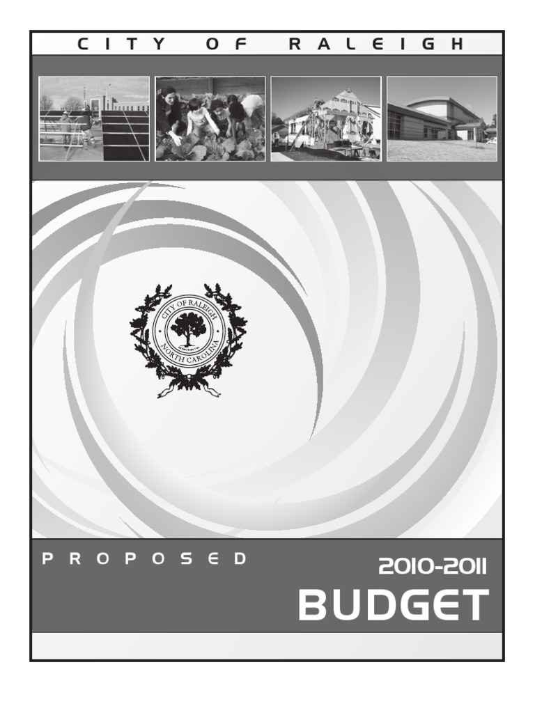 2011 Proposed Operating Budget | Budget | Taxes