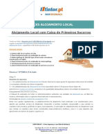Ficha Tecnica - PACKS ALOJAMENTO LOCAL Com Caixa de Primeiros Socorros