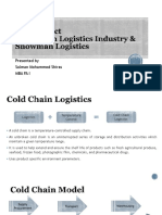 Indian Cold Chain Logistics Industry and Snowman Logistics