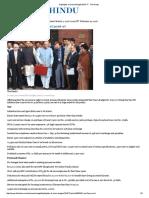 Highlights of Union Budget 2016-17 - The Hindu