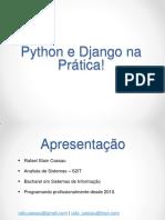 Pythonedjangonapratica Pessoal